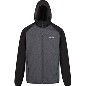 Regatta Arec II Softshell Jas Heren, magnet/black